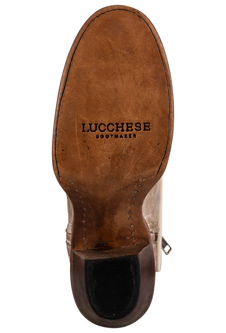 Lucchese Women's Ericka Distressed Bootie - Sole