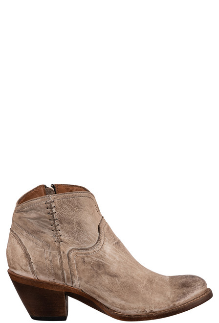 Lucchese Women's Ericka Distressed Bootie - Side