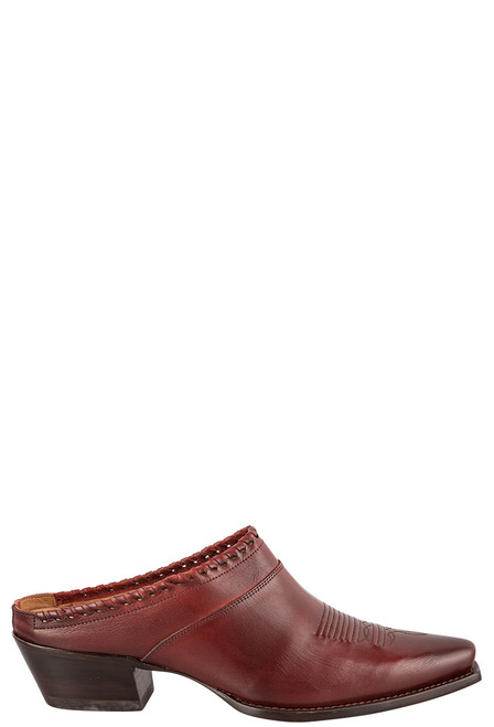 Lucchese Women's Kim Red Mule - Side