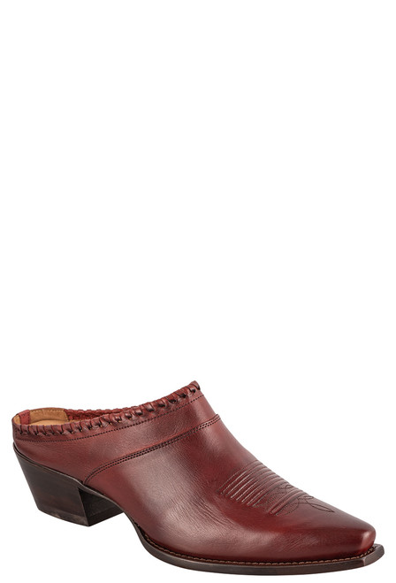 Lucchese Women's Kim Red Mule - Angle
