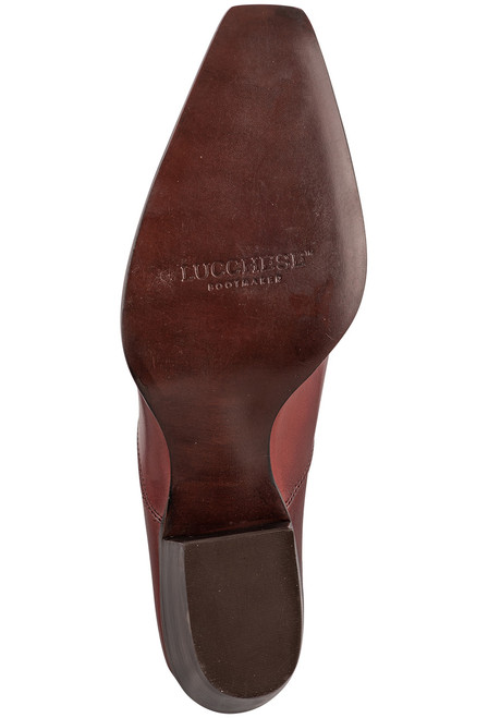 Lucchese Women's Kim Red Mule - Sole