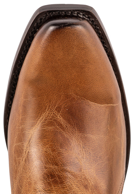 """Lucchese Patsy 13"""" Tan Mad Dog Cowboy Boots - Toe"""