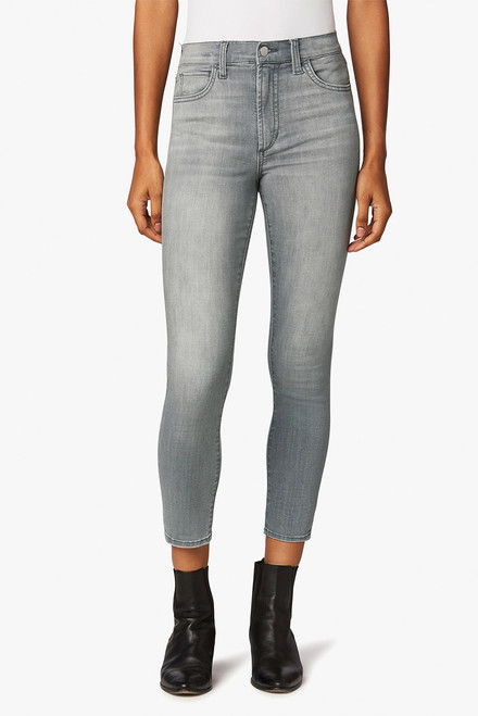 Joe's Jeans Charlie High Rise Crop Jeans - Front