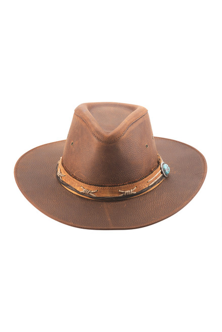 Bullhide Savage Love Leather Hat - Front