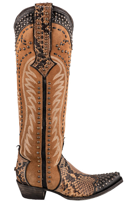 Double D Ranch by Old Gringo Tall Snake Charmer Boots - Side