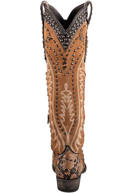 Double D Ranch by Old Gringo Tall Snake Charmer Boots - Back