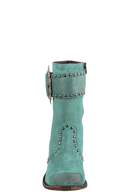 Double D Ranch by Old Gringo Turquoise Segovia Boots - Front