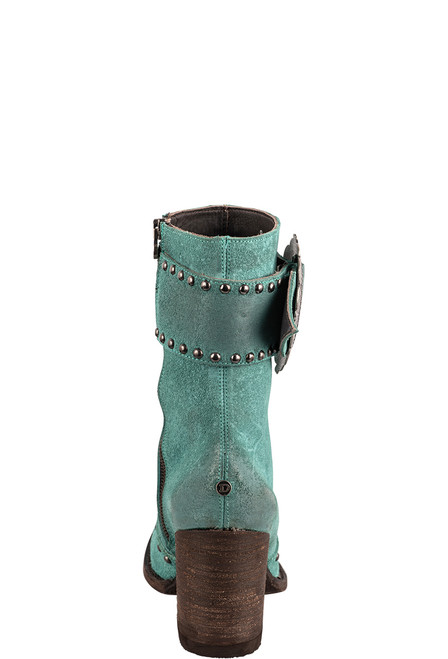 Double D Ranch by Old Gringo Turquoise Segovia Boots - Back