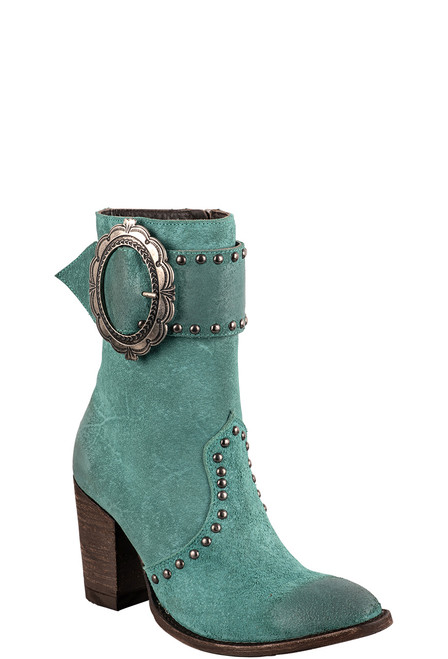 Double D Ranch by Old Gringo Turquoise Segovia Boots - Angle
