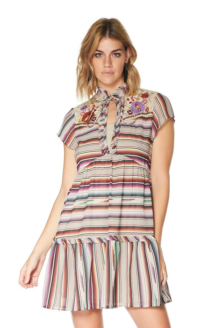 Double D Ranch Santa Rita Serape Print Dress - Lifestyle