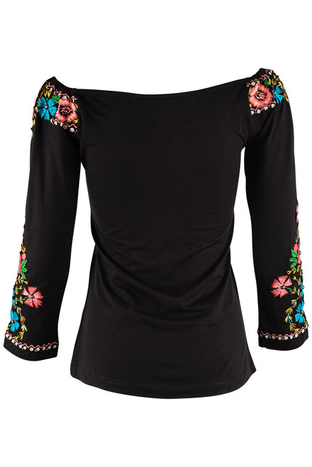 Vintage Collection American Rose Knit Top - Back
