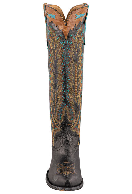 """Old Gringo Women's Yucatan 17"""" Tall Boots - Front"""