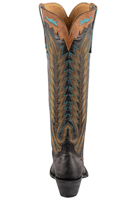 """Old Gringo Women's Yucatan 17"""" Tall Boots - Back"""