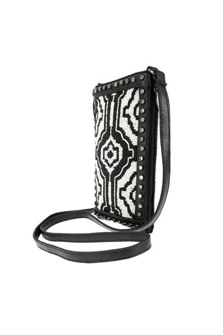 Mary Frances Going Native Beaded Crossbody Phone Purse - Other Side