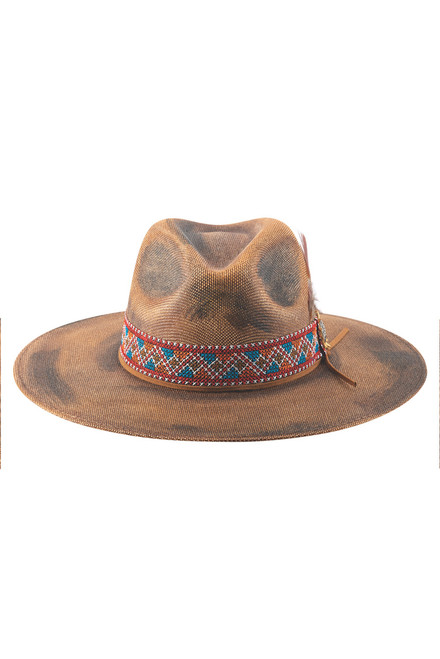 Bullhide Stuck with You Straw Hat - Front Two