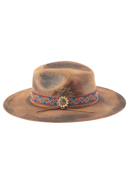 Bullhide Stuck with You Straw Hat - Angle Two