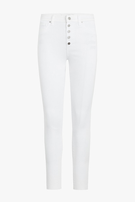 Joe's Jeans Charlie Ankle Jeans - White - Front