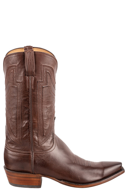 Lucchese Men's Whiskey Collins Cowboy Boots - Side