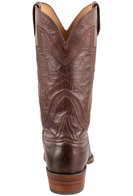 Lucchese Men's Whiskey Collins Cowboy Boots - Back