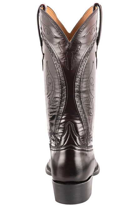 Lucchese Men's Black Cherry Gavin Cowboy Boots - Back