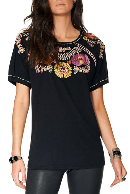 Double D Ranch El Casamiento Embroidered Top - Front