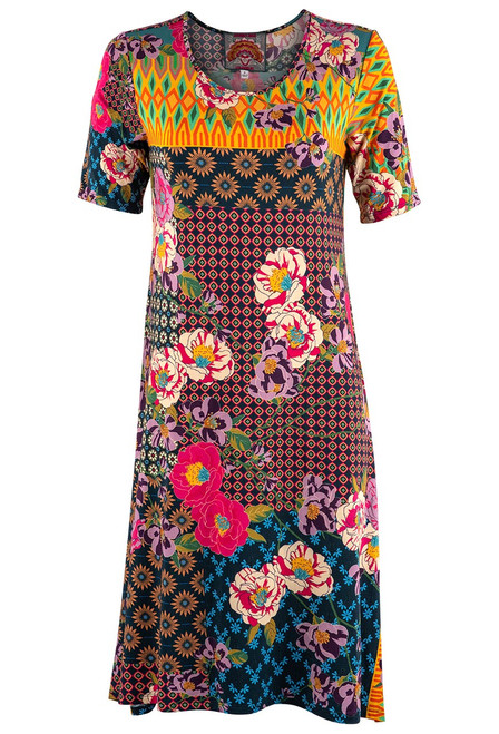 Johnnie Was Maggie Swing Knit Dress - Front 2