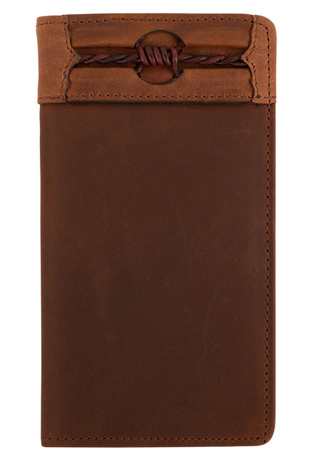 Leegin Aged Leather Fenced in Checkbook Wallet - Front