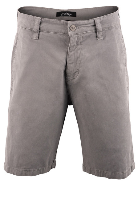 34 Heritage Men's Nevada Grey Fine Touch Shorts - Front
