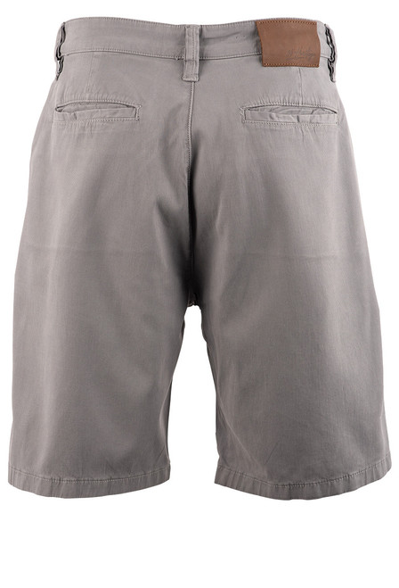 34 Heritage Men's Nevada Grey Fine Touch Shorts - Back