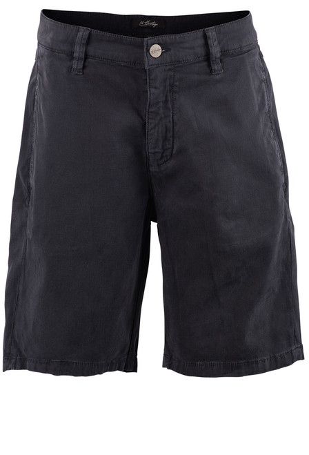 34 Heritage Men's Nevada Fine Touch Shorts - Navy - Front