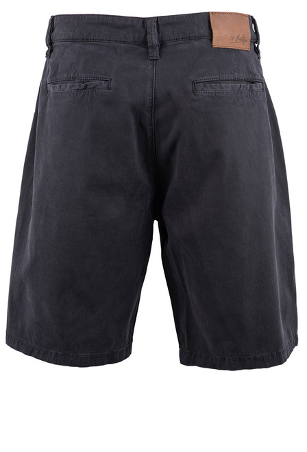 34 Heritage Men's Nevada Fine Touch Shorts - Navy - Back