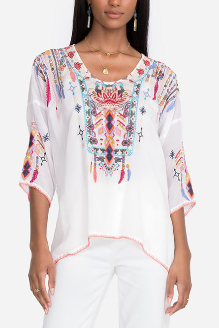 Johnny Was Rangoon Blouse - Front