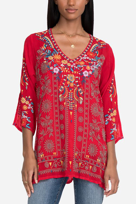 Johnny Was Zillia Tunic - Front