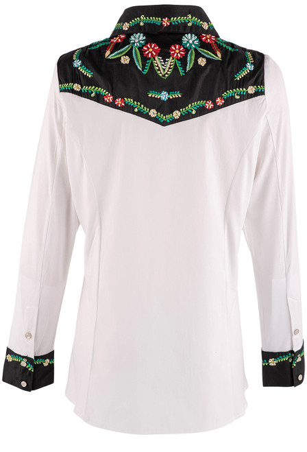 Vintage Collection Lilly Western Shirt - Back