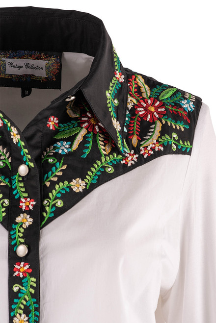 Vintage Collection Lilly Western Shirt - Detail