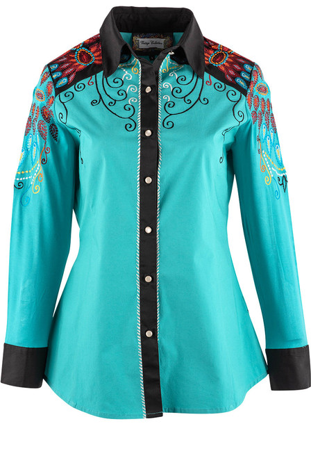 Vintage Collection Mae Western Shirt - Front