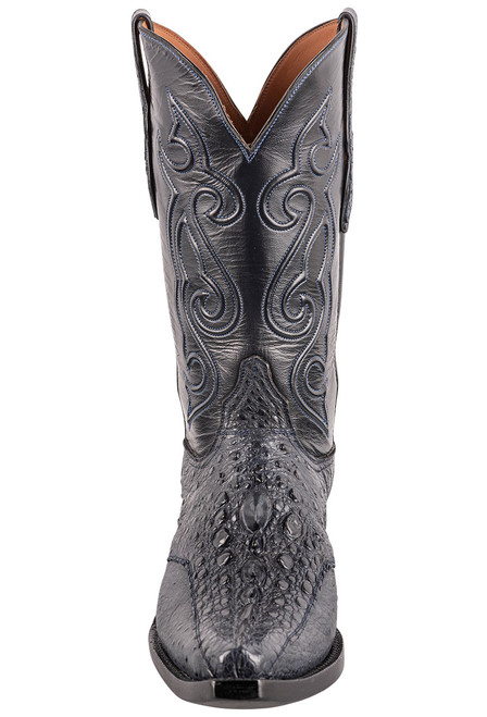 Black Jack Exclusive Navy Snapping Turtle Boots - Front