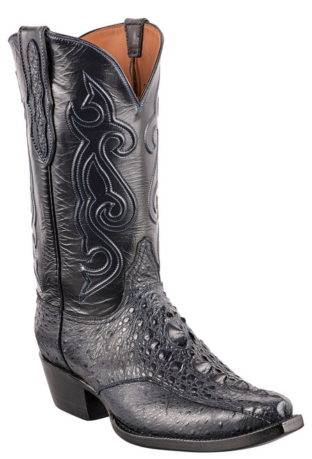 Black Jack Exclusive Navy Snapping Turtle Boots