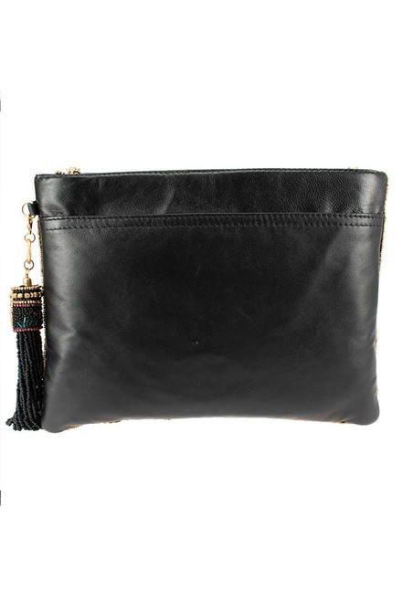 Mary Frances Valley of the Flowers Crossbody Clutch - Back