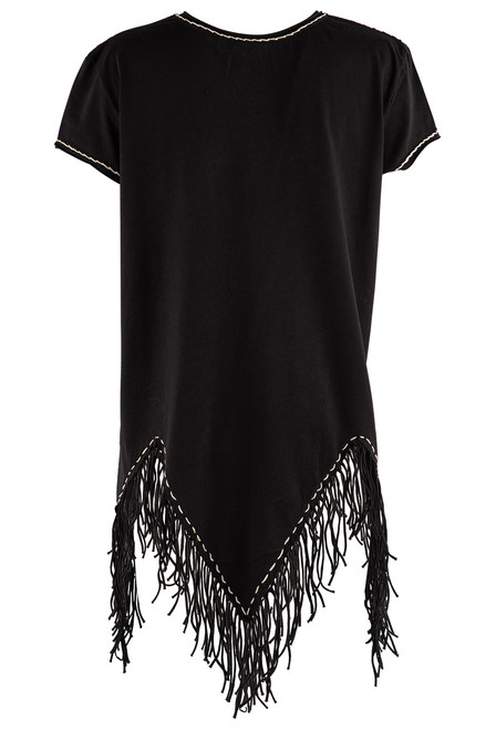 Double D Ranch Pony Pal Fringe Top - Back 1