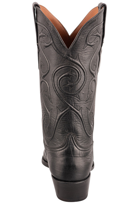 Black Jack Exclusive Ranch Hand Tooled Wingtip Boots - Back
