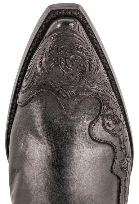 Black Jack Exclusive Ranch Hand Tooled Wingtip Boots - Toe