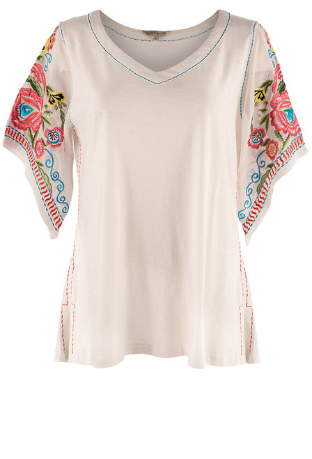 Vintage Collection Jackson Top with Chiffon Sleeves - Front