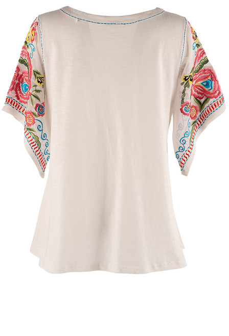 Vintage Collection Jackson Top with Chiffon Sleeves - Back