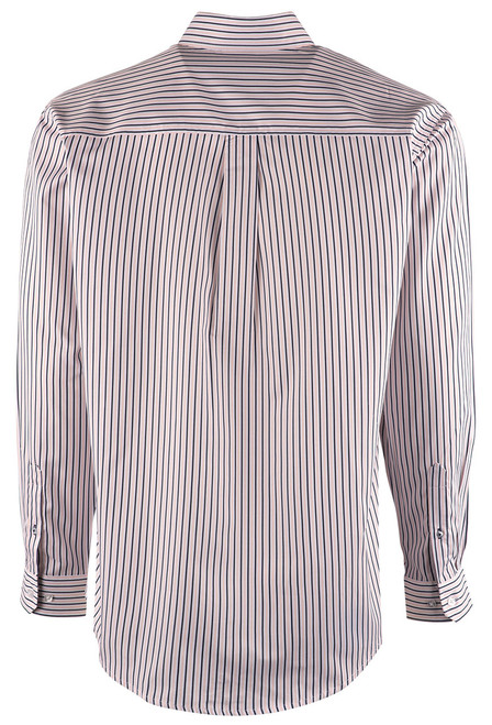 Cinch Pink and Blue Striped Shirt - Back
