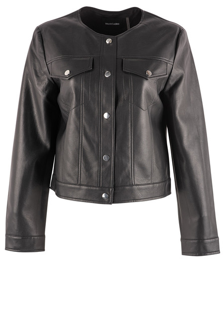 Dolce Cabo Faux Leather Jacket - Front