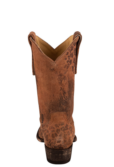 """Old Gringo 10"""" Leopardito Ochre Boots - Back"""