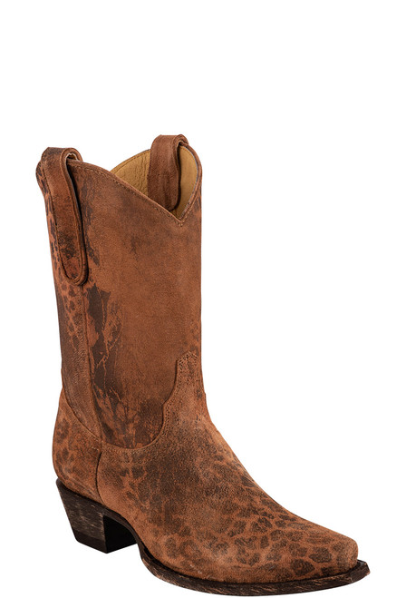 """Old Gringo 10"""" Leopardito Ochre Boots -"""