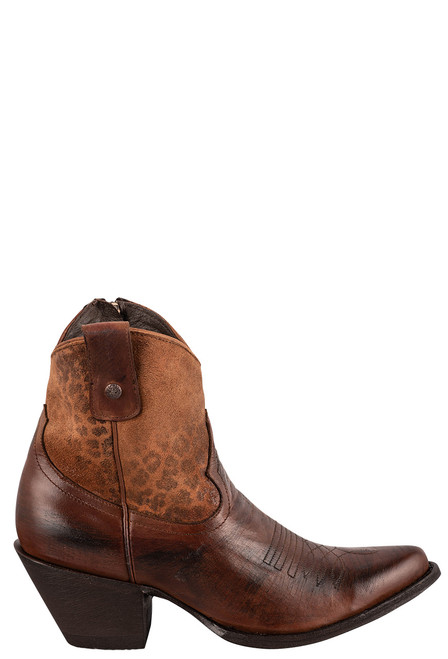 """Old Gringo Women's Corinna 7"""" Leopardito Boots - Side"""