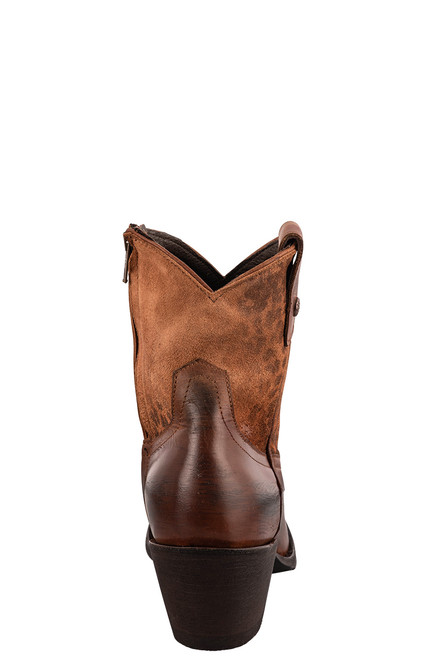 """Old Gringo Women's Corinna 7"""" Leopardito Boots - Back"""